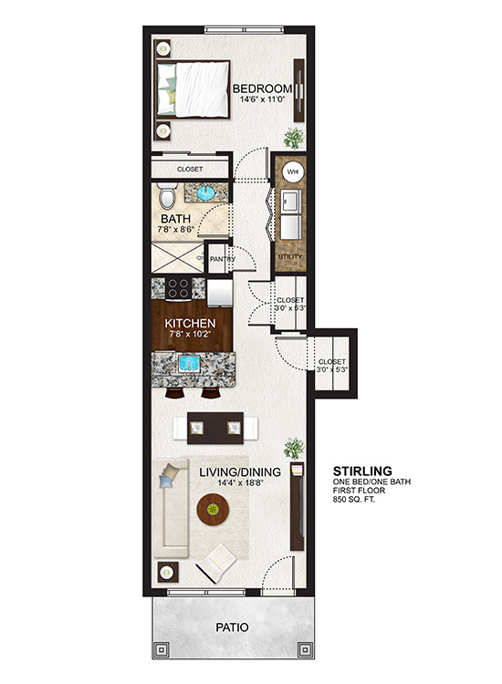 The Residences at Lexington Hills - Floor Plans - Stirling